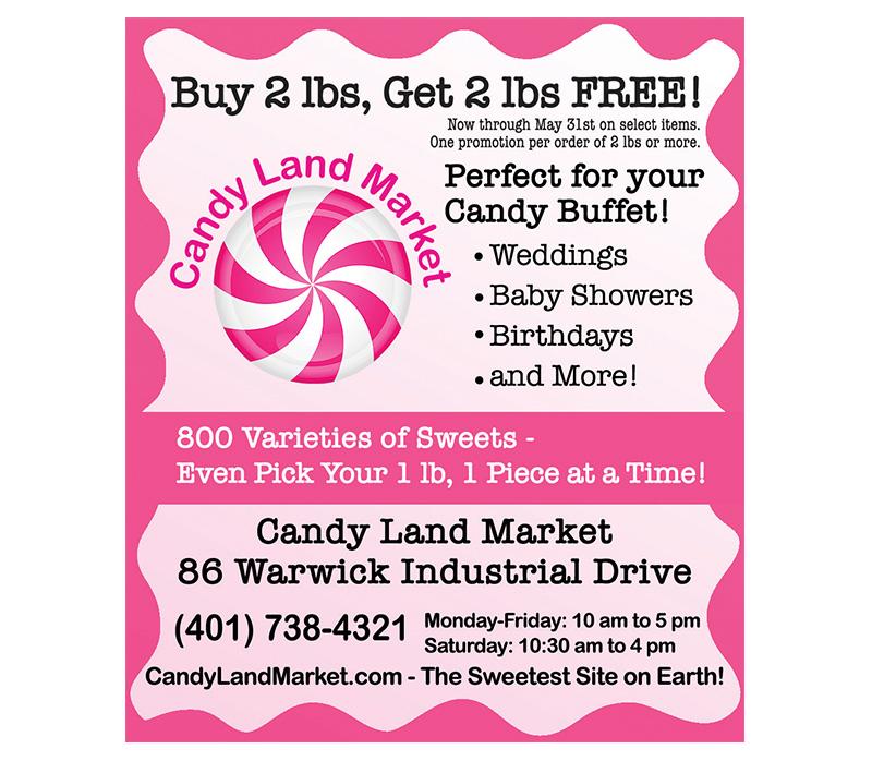 Candy Land Market Print Ad